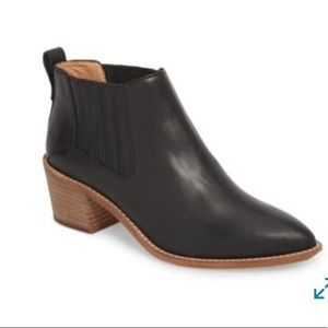 MADEWELL Bonham Leather Chelsea Ankle Bootie
